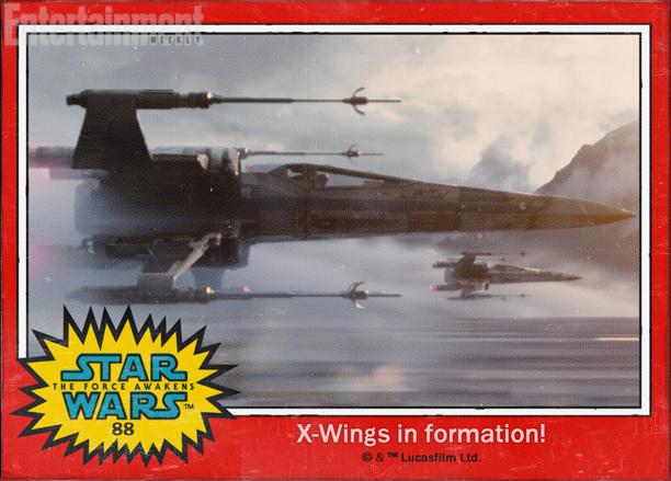 Star Wars The Force Awakens Karakter İsimleri 88 X-Wings