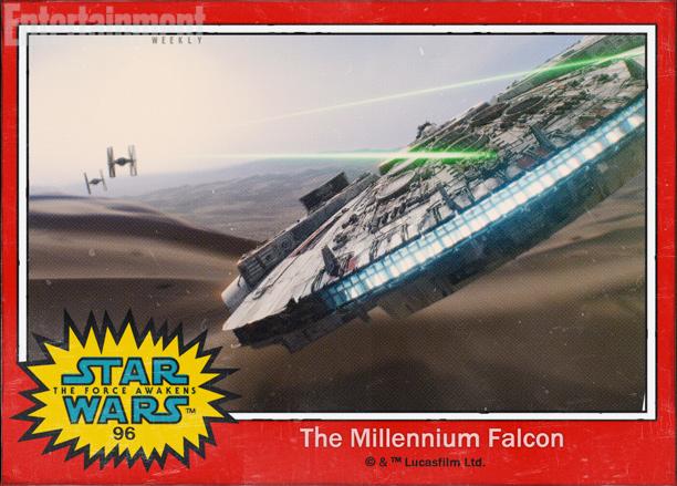 Star Wars The Force Awakens Karakter İsimleri 96 Millenium Falcon