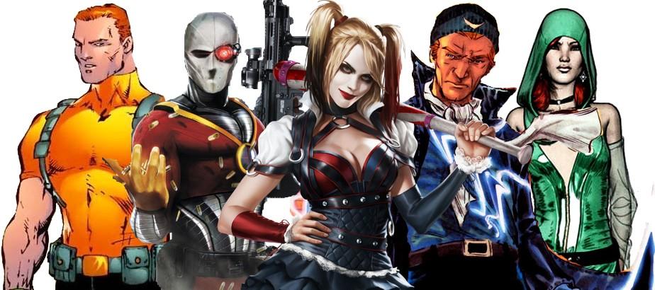 Suicide Squad Film Version Geekyapar