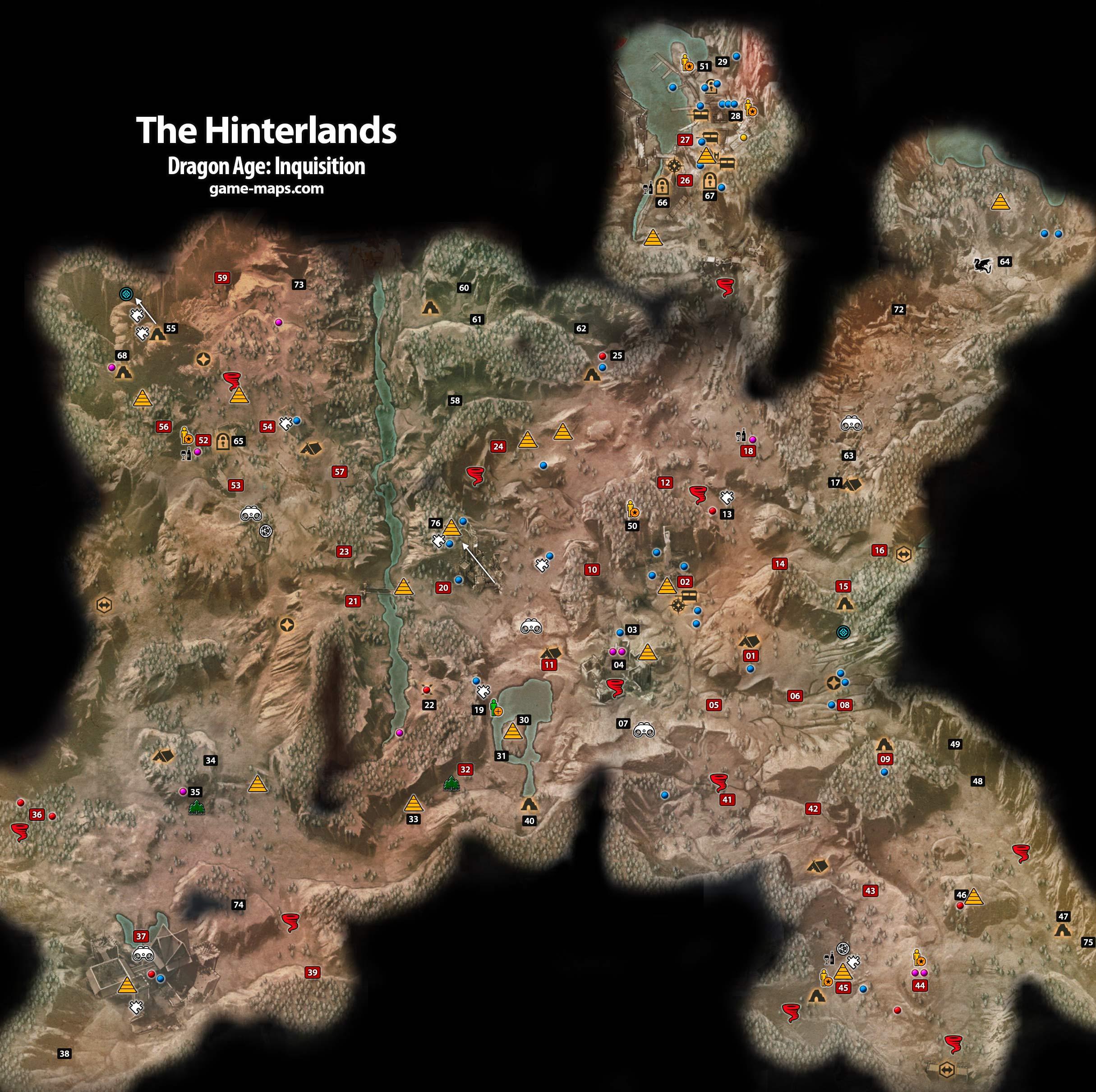 Oyunun ilk açık arazisi, Hinterlands... Saatleriniz burada geçecek ve seveceksiniz!
