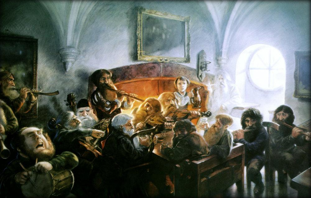 hobbits-jrr-tolkien-john-howe