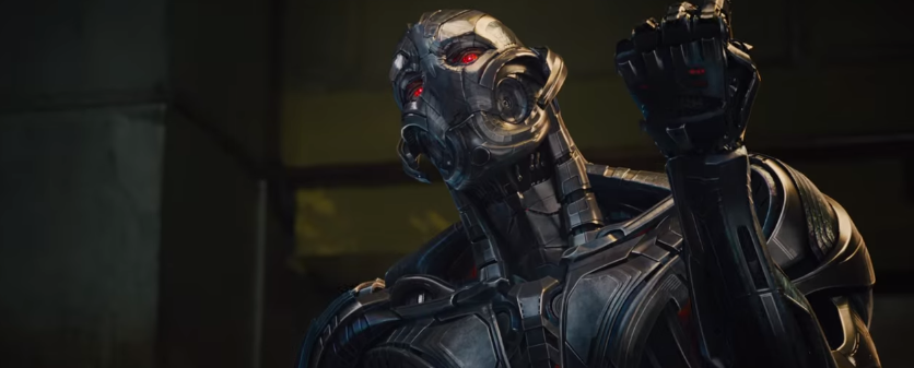 9 Ultron Red Eyes