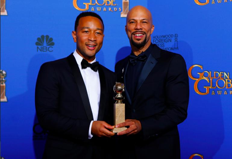 John Legend Golden Globe Awards 2015