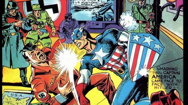 3 Kirby Captain America