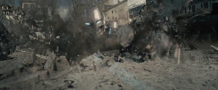 Avengers Age of Ultron 3 Fragman Ultron From the Ground