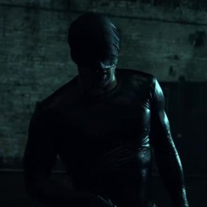 Daredevil S01E01 Black Costume Daredevil