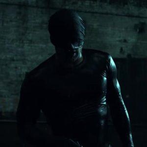 Daredevil S01E01 Black Costume Daredevil