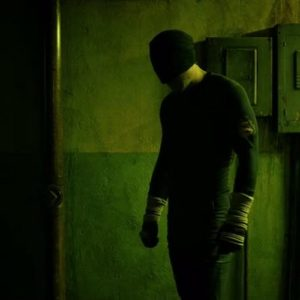 Daredevil S01E02 Black Costume Daredevil