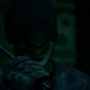 Daredevil S01E06 Daredevil Walkie Talkie