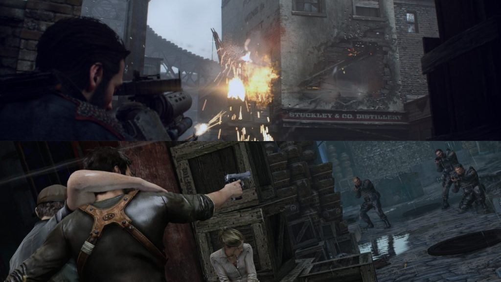 Order vs Uncharted 1