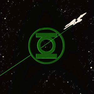 Star Trek Green Lantern 1