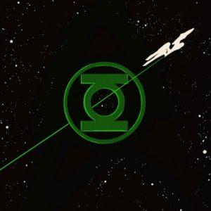 Star Trek Green Lantern 1