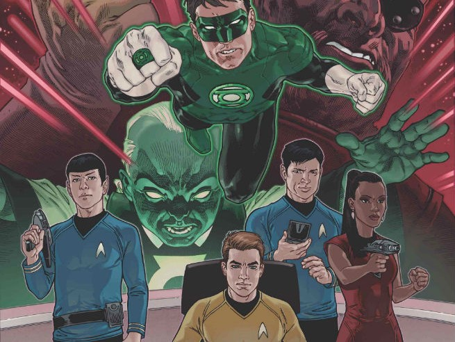 Star Trek Green Lantern 2