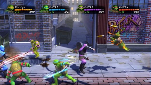Teenage Mutant Ninja Turtles Turtles in Time