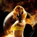 lady gaga machete in space