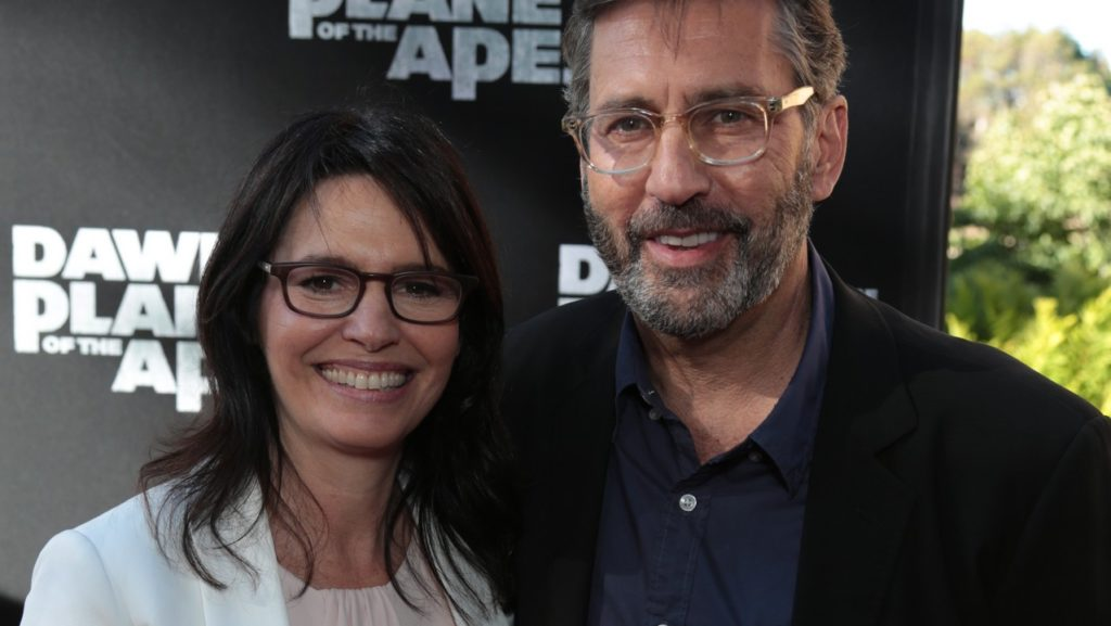 "Amanda Silver and Rick Jaffa arrive at the ""Dawn of the Planet of the Apes"" Premiere presented by 20th Century Fox at the Palace of Fine Arts in San Francisco, CA on Thursday, June 26, 2014 (Alex J. Berliner/ABImages)"