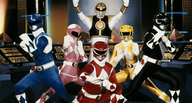 "FILE - This publicity file photo provided by Saban Brands, shows a scene from the ""Mighty Morphin Power Rangers"" TV show. Lions Gate Entertainment Corp. said Tuesday, May 6, 2014, it was partnering with Haim Sabanís Saban Entertainment to produce a live-action feature film based on the spandex-wearing, martial arts superheroes who are usually called upon to save the world. ""Power Rangers"" have had a continuous presence on U.S. TV since 1993. (AP Photo/Saban Brands, file)"