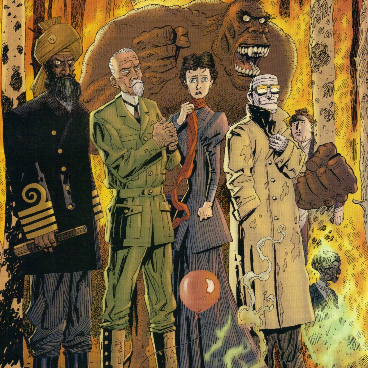 annotations to league of extraordinary gentlemen volume - HD 1189×1189