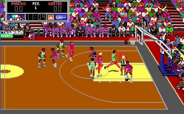 02 Lakers versus Celtics
