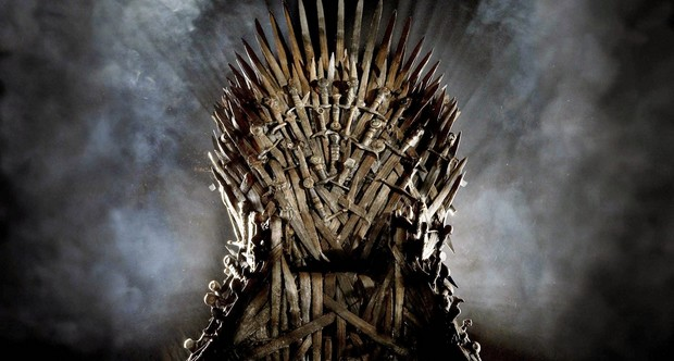 Game of Thrones Replica Iron Throne Wallpaper