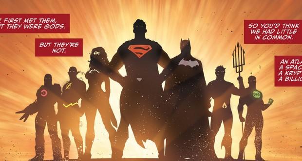 Justice League Darkseid War 1