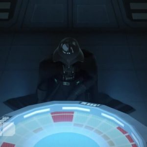 Star Wars Rebels S02E01 Darth Vader Kneeling