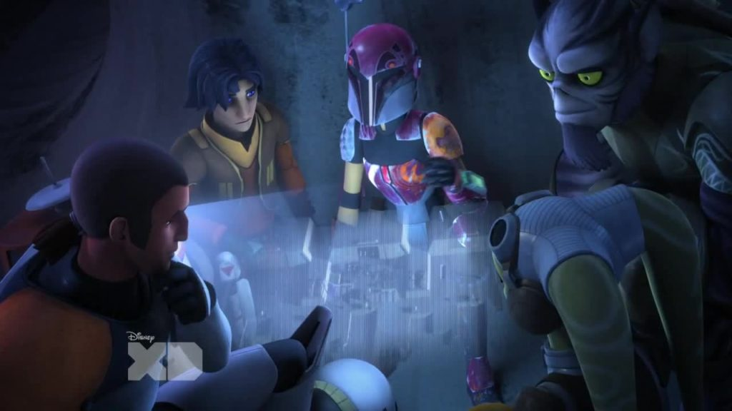 Star Wars Rebels S02E01 Ghost Crew
