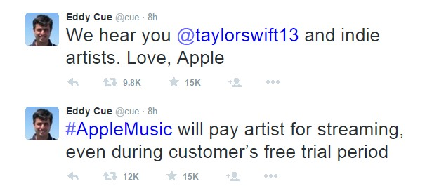 taylor vs. apple