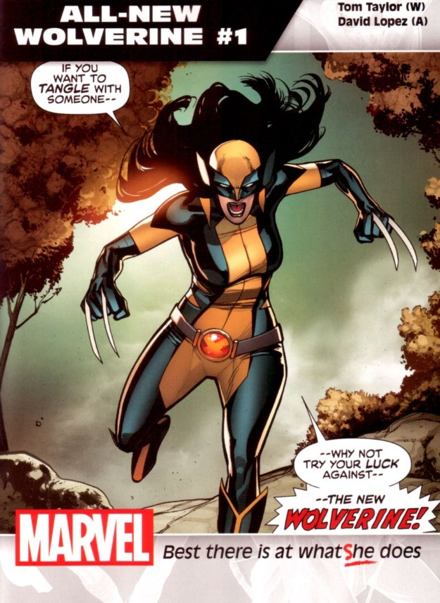 03 All-New Wolverine - Tom Taylor & David Lopez