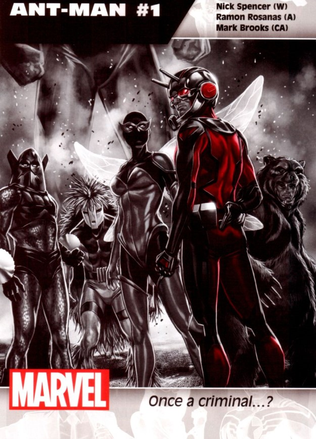 08 Ant-Man - Nick Spencer & Ramon Rosanas