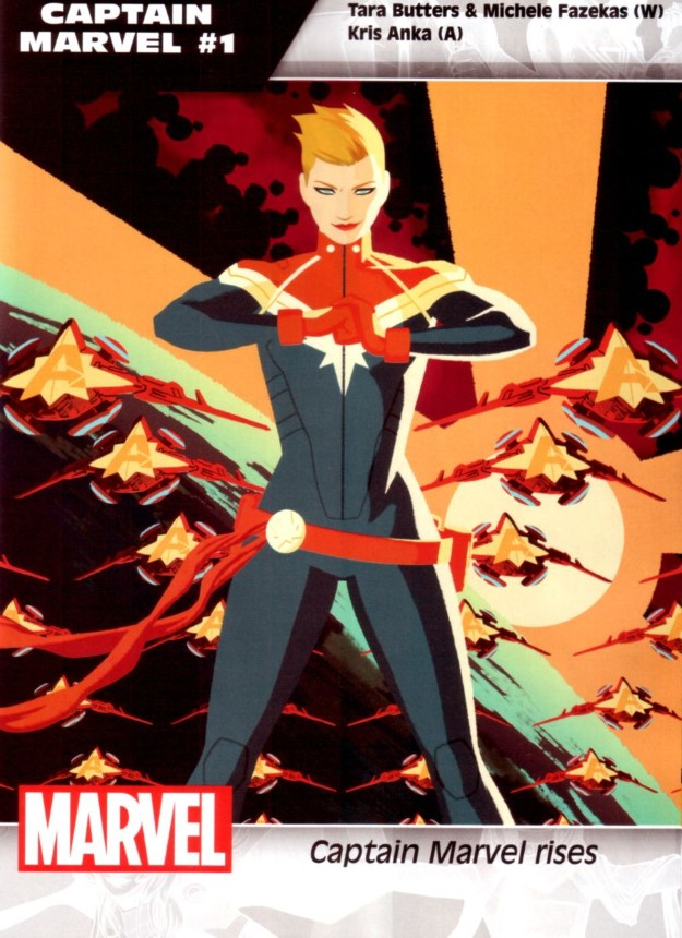 09 Captain Marvel - Tara Butters, Michele Fazekas & Kris Anka