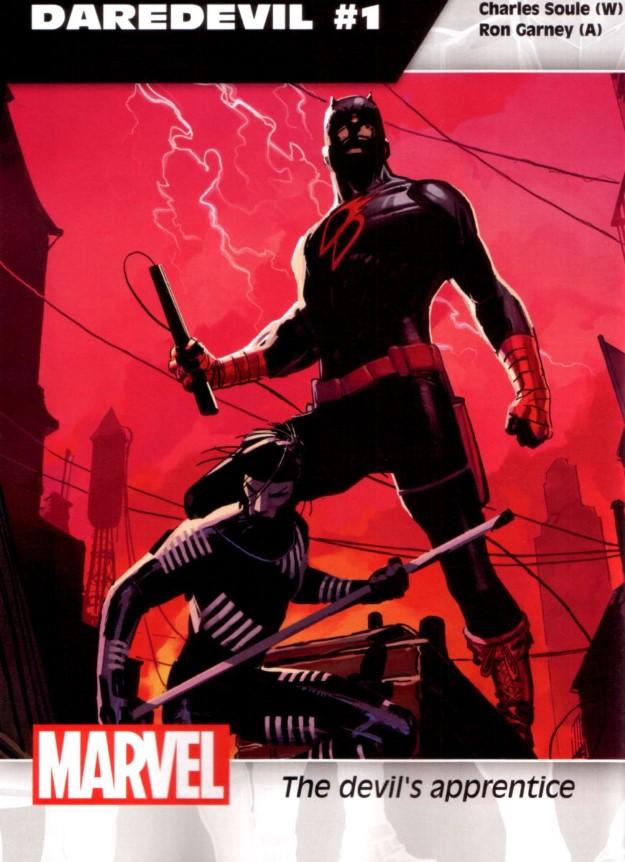 12 Daredevil - Charles Soule & Ron Garney