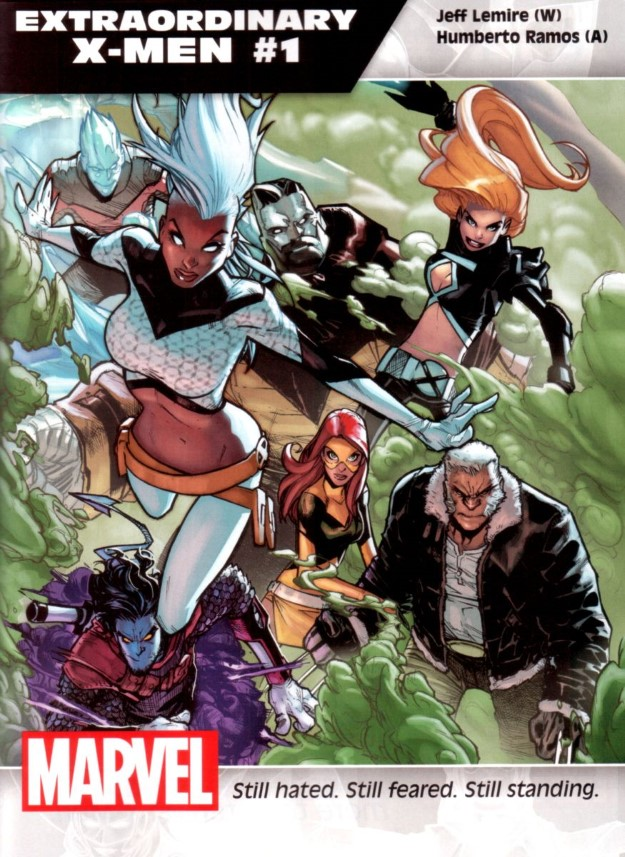 16 Extraordinary X-Men - Jeff Lemire & Humbert Ramos
