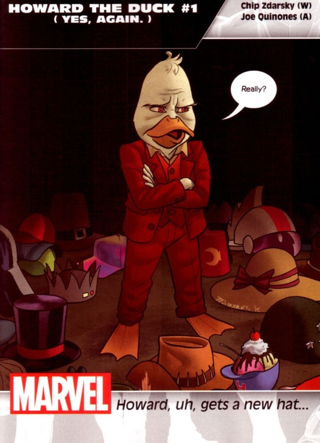 19 Howard the Duck - Chip Zdarsky & Joe Quinones