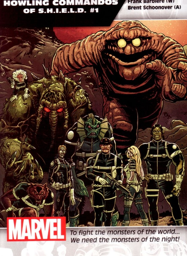 20 Howling Commandos of S.H.I.E.L.D. - Frank Barbiere & Brent Schoonover