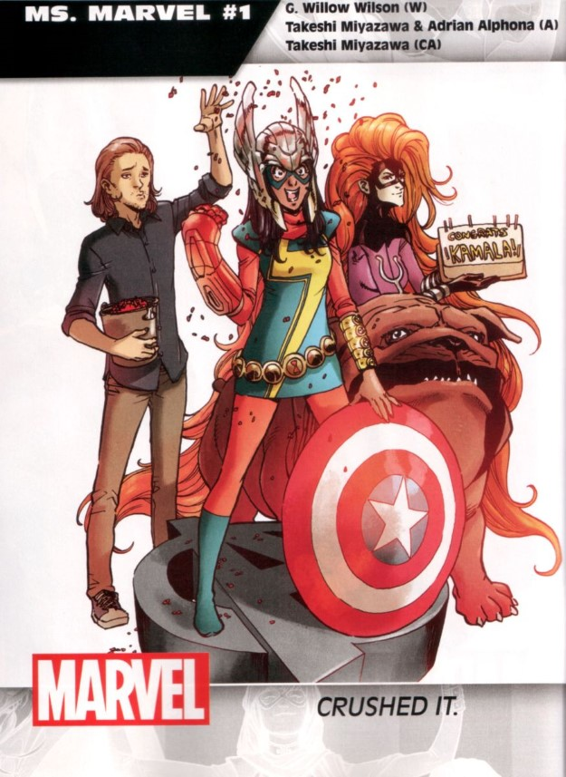23 Ms. Marvel - G. Willow Wilson, Takeshi Miyazawa & Adrian Alphona