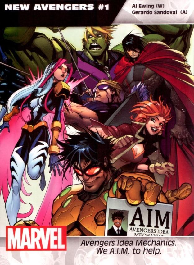 24 New Avengers - Al Ewing & Gerardo Sandoval