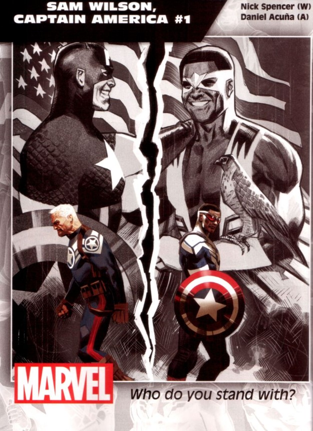27 Sam Wilson, Captain America - Nick Spencer & Daniel Acuna