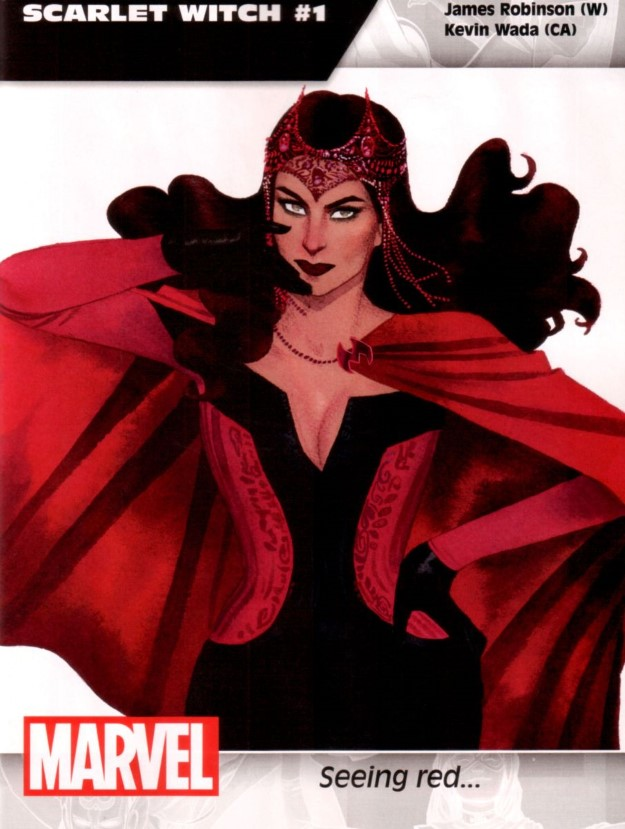 28 Scarlet Witch - James Robinson & Kevin Wada