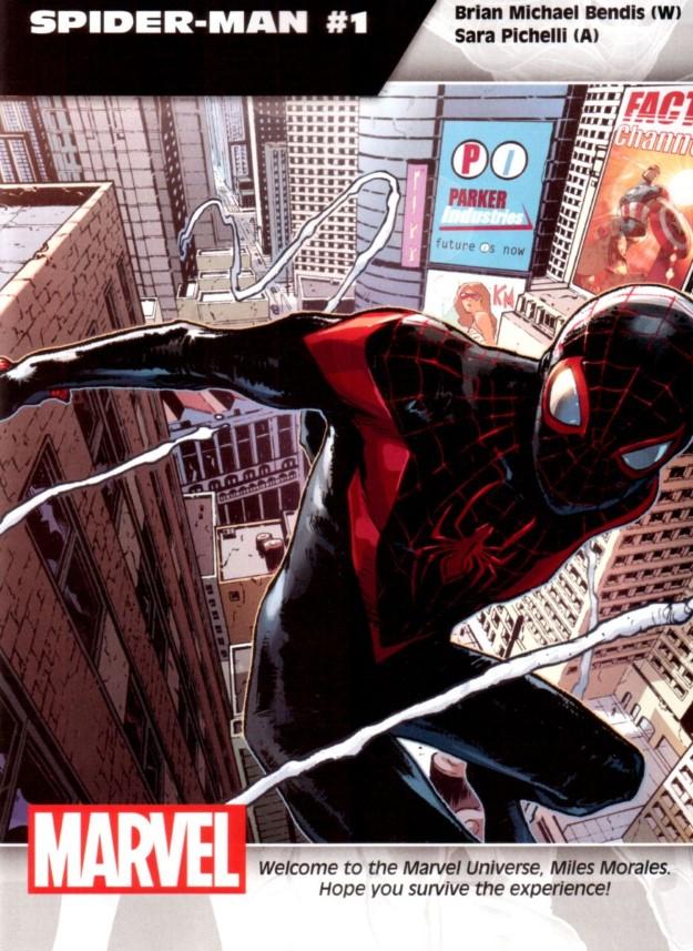 31 Spider-Man - Brian Michael Bendis & Sara Pichelli