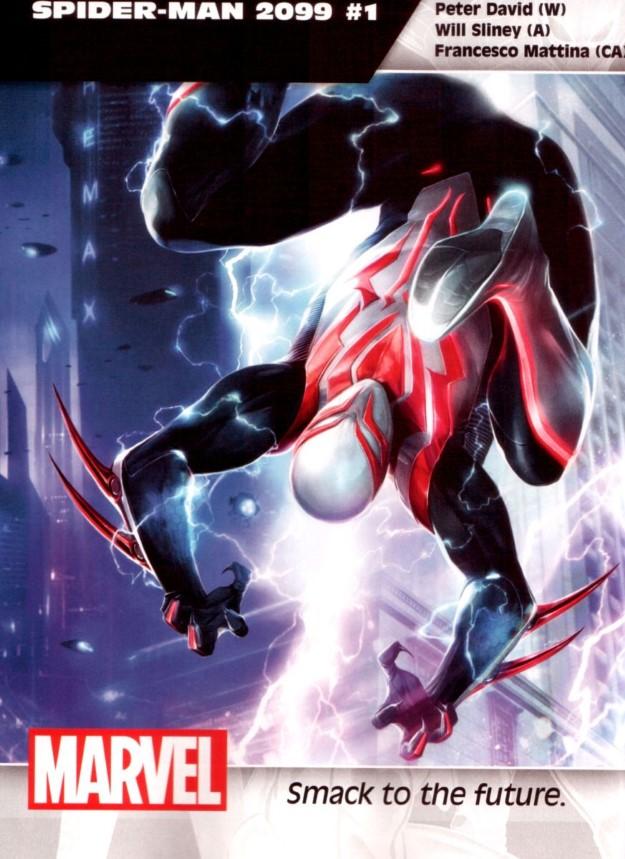 32 Spider-Man 2099 - Peter David & Will Sliney