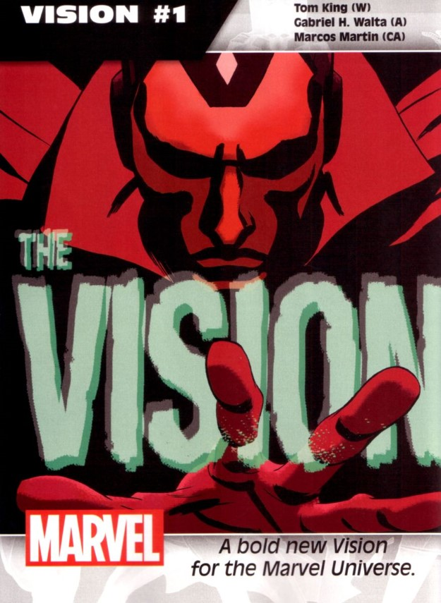 37 Vision - Tom King & Gabriel H. Waita
