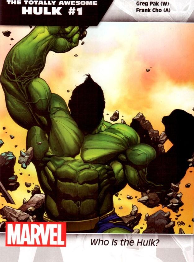 38 The Totally Awesome Hulk - Greg Pak & Frank Cho