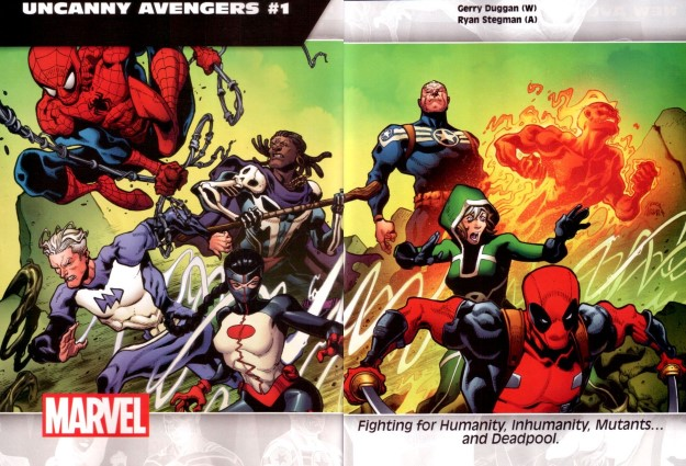 40 Uncanny Avengers - Gerry Duggan & Ryan Stegman
