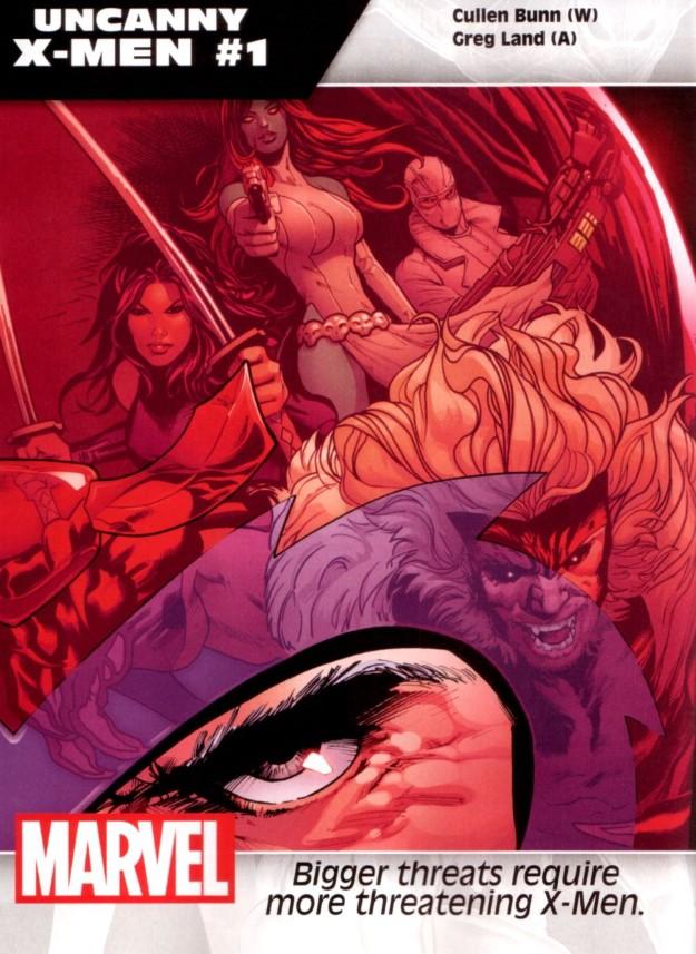 42 Uncanny X-Men - Cullen Bun & Greg Land