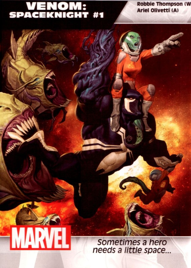 43 Venom Spaceknight - Robbie Thompson & Ariel Olivetti