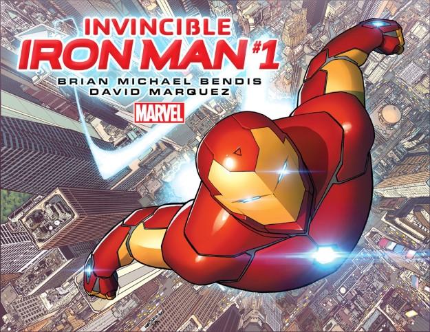 45 Invincible Iron Man - Brian Michael Bendis & David Marquez