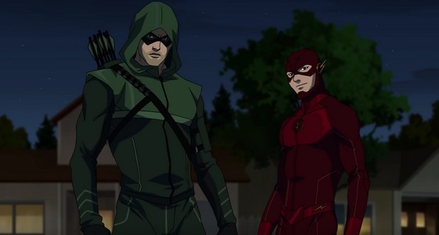 Arrow Flash Vixen