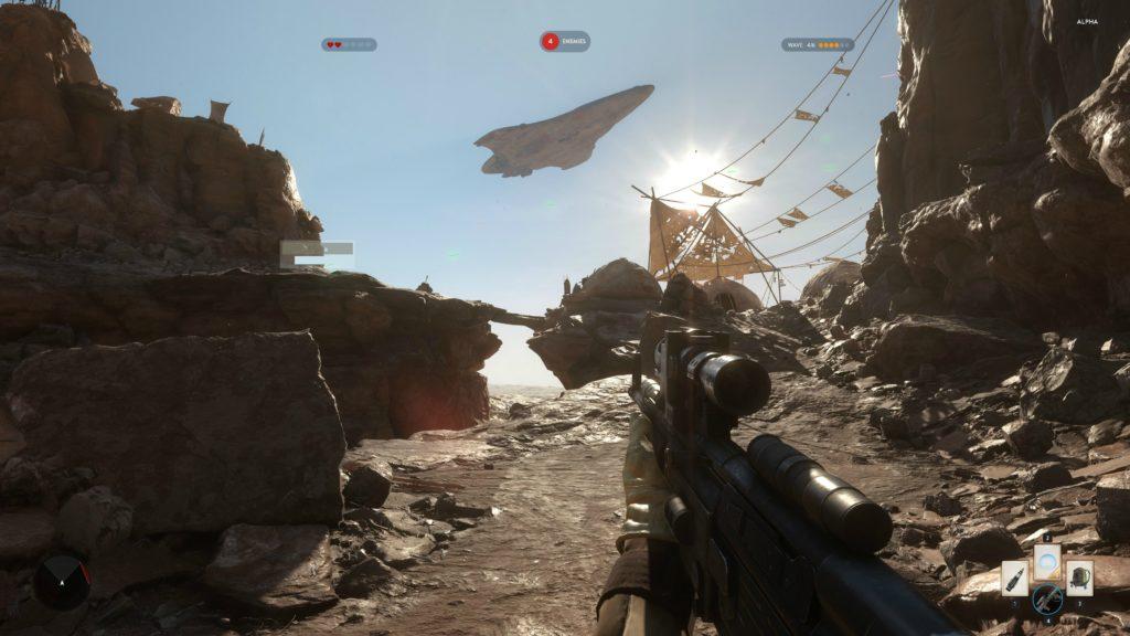 Star Wars Battlefront Alpha Tatooine 4K 10