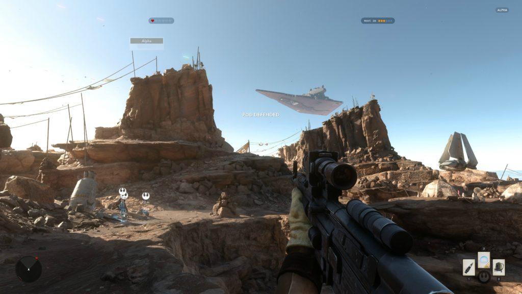 Star Wars Battlefront Alpha Tatooine 4K 11